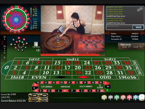 7Red live roulette