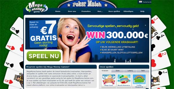Mega Money Games Online Krasloten