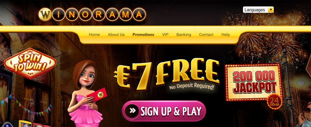 winorama casino login