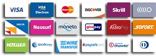 Betaalmethodes online casino's